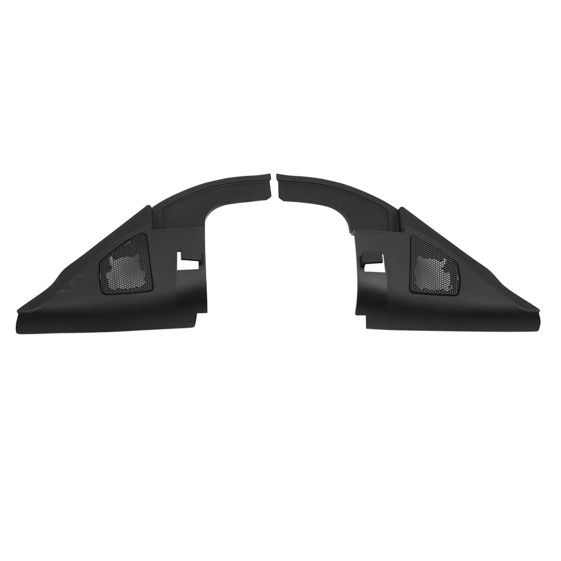 uxcell Pair Black Car Speaker Trim Cover Tweeter Protector for 2009 Nissan Sylphy