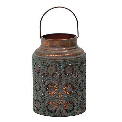 - Foreside Home & Garden Foreside Scroll Work Copper Lantern