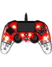 Nacon Wired Compact Controller Light Edition (PS4), Red