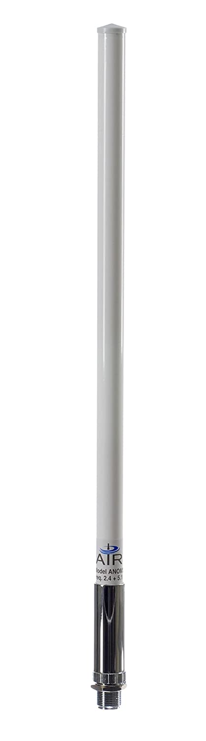 AIR802 Dual-Band Mesh Omni-Directional Antenna, 2.4 & 5 GHz Dual-Frequency, N Jack-Female Connector ANOM245XM-NF