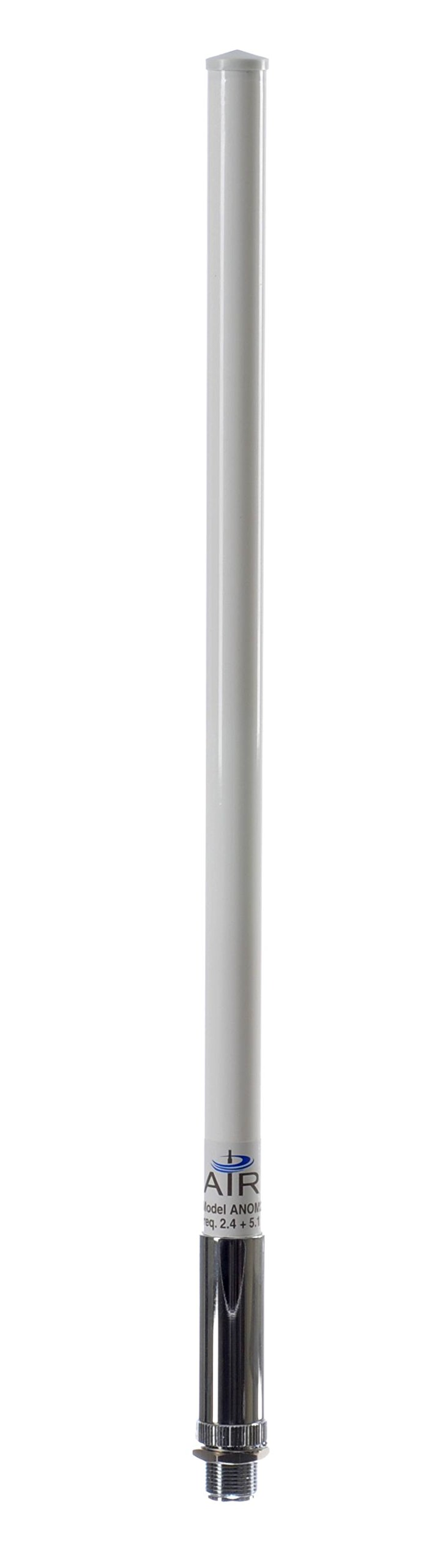 AIR802 Dual-Band Mesh Omni-Directional Antenna, 2.4 & 5 GHz Dual-Frequency, N Jack-Female Connector