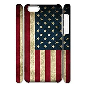 diy phone caseCustom New Case for iphone 4/4s 3D, American Flag Phone Case - HL-R642778diy phone case