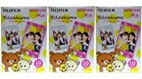 Rilakkuma instax mini films for Fuji instant mini cameras set of 3 packs x 30 photos