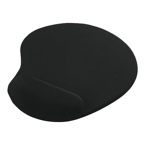 iBUFFALO マウスパッド リストレスト一体型 低反発タイプ ブラック BSPD11BK