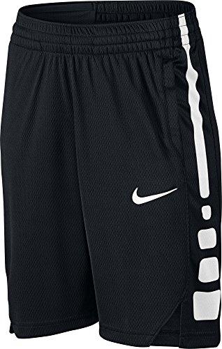 NIKE Boy's Dry Basketball Short Black/White Size Medium