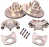 Kodiak 12'' Hydraulic Trailer Disc Brake Kit w/Bearings & Seals (1 Axle Complete)