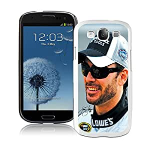 Beautiful Designed Case With Jimmie Johnson White For Samsung Galaxy S3 I9300 Phone Case