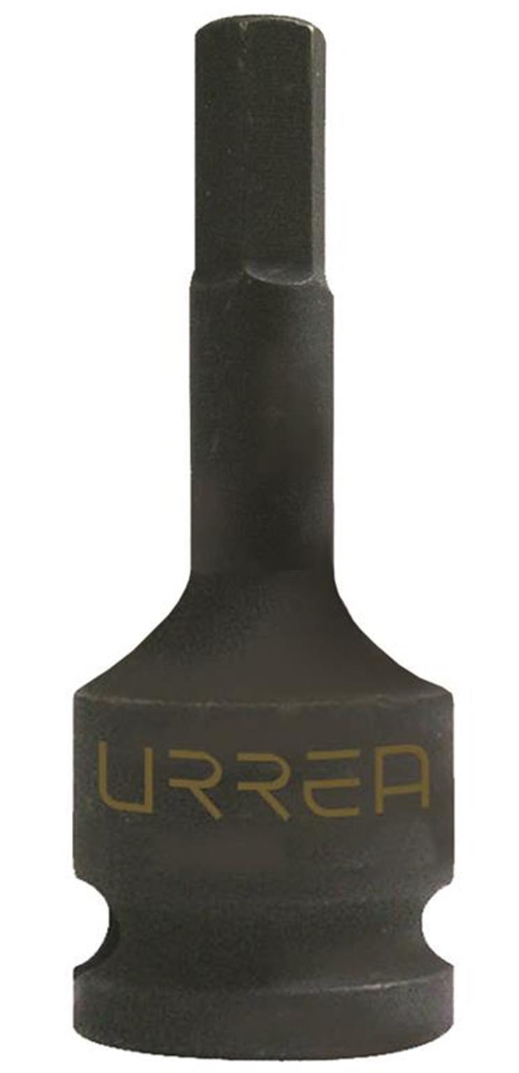 Urrea 7441-6M Socket Impact 1/2-Inch Bit Hex, 6mm