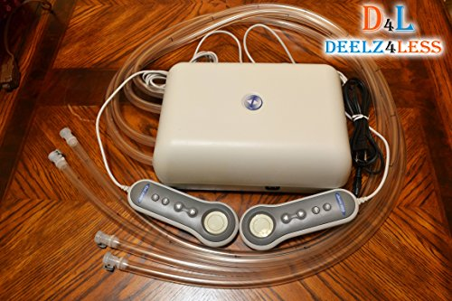 select-comfort-sleep-number-bed-pump-with-4-hoses-pfcs02-dt-for-queen-king-size