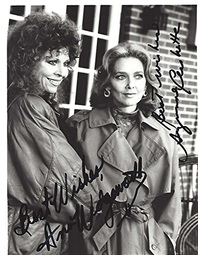 Suzanne Pleshett As Kate Bennington And Ann Wedgeworth As Susan Berger In Astranger Awaits  Signed 7X9 B W Photo