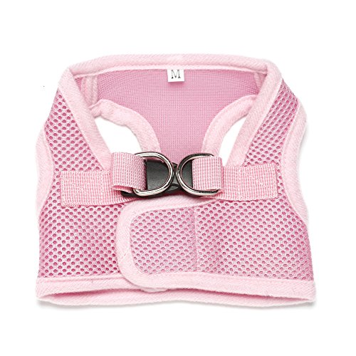 Dog Harness Pet Vest Harness Dog Trainning Harness Breathable Oxford Material Adjustable Outdoor Pet Vest for Small and Medium Dog by AENMIL
