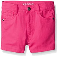 kensie Girls' Big Casual Short (More Styles Available), 1392 Hot Pink, 14