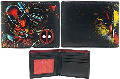 Deadpool Bi-Fold Wallet from Bioworld