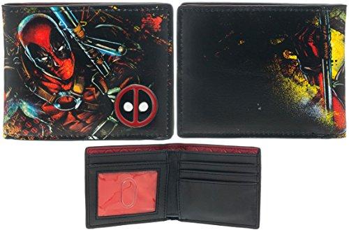 Deadpool Bi-Fold Wallet from Bioworld