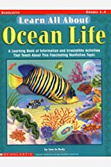 Learn All About: Ocean Life: A Learning Bank of Information and Irresistible Activities That Teach About This Fascinating Nonfiction Topic Paperback