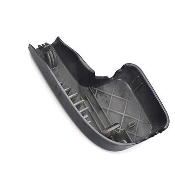 Elenxs Coche de sustitución Delantero Brazo del limpiaparabrisas Tapa de plástico del automóvil para BMW Serie