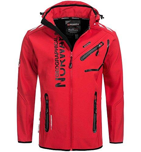 Norway Rojo Chaqueta para Hombre Geographical YxdqZY