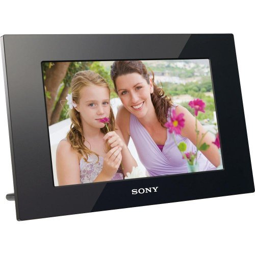Sony DPF-D1010 10.2-Inch WVGA LCD (16:10) Digital Photo Frame (Black) by Sony