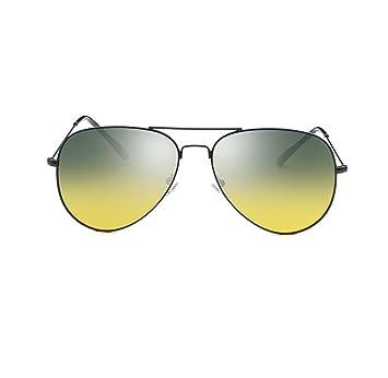 Retro Clásico Conducir Día Y Noche Polarizada Gafas De Sol,BlackFrame