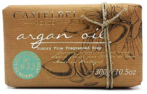 Castelbel Argan Oil Luxury Soap - 10.5 oz Large Bar