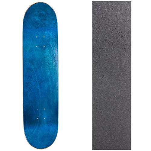 Cal 7 Blank Skateboard Deck with Grip Tape | 7.75, 8.0 and 8.25 Inch | Maple Board for Skating (8.25 inch, - Skateboard 8.25 Deck