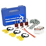 Brady LK041R, 45587 Chain Lockout Kit, 2 Kits