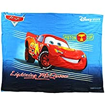 "Disney Cars ""Lightning McQueen"" Fleece Character Blanket 50 x 60-inches"