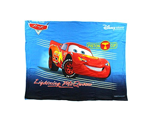 "Disney Cars ""Lightning McQueen"" Fleece Character Blanket 50"