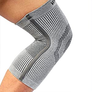 Vital Salveo-Compression Recovery Knee Sleeve/brace S-Support, Pain Relief, Protects Joint - Ideal for Sports and Daily Wear - Large(1PC)