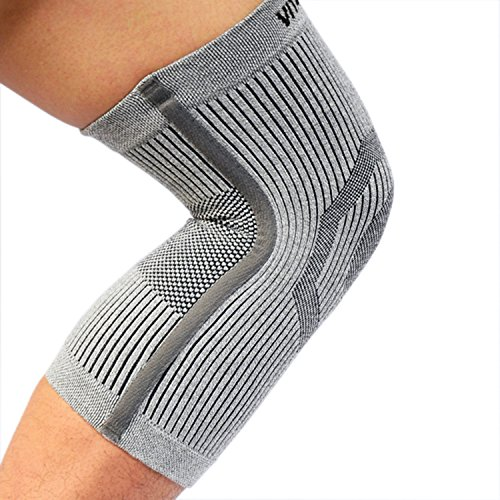 Vital Salveo-Compression Recovery Knee Sleeve/brace S-Support, Pain Relief, Protects Joint - Ideal for Sports and Daily Wear- Small (Spirit Action Wear)