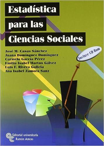 Estadística para las ciencias sociales (Manuales): Amazon.es ...