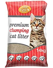 Feline First Premium Clumping Cat Litter 14 kg