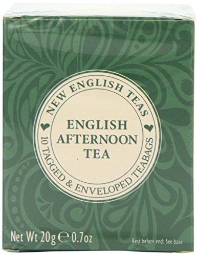 New English Teas Original Classics English Afternoon Teabags Carton (Pack of 6, Total 60 Teabags) (Christmas Afternoon Tea London)