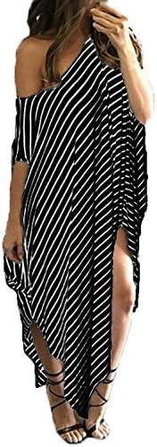 Kidsform Striped Irregular Dresses Sundress