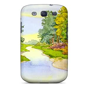 Galaxy S3 Hard Case With Awesome Look - Oog14876HWEd