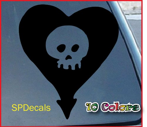 Alkaline Trio Heart Skull Car Window Vinyl Decal Sticker 4