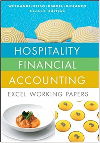 Hospitality Financial Accounting: Excel Working Papers: Jerry J ...