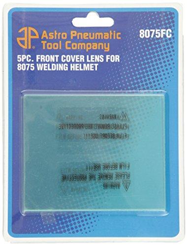 Astro 8075FC Front Cover Lens for AST8075SE Welding Helmet - 5 Piece