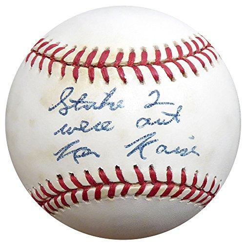 Ken Kaiser Autographed Official 1994 World Series Baseball Umpire