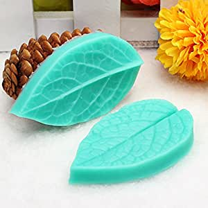 Amazon.com: [Free Shipping] TC3773 Silicone Leaf Shaped