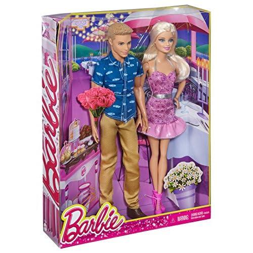 Barbie dating Ken Doll