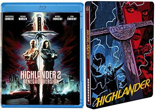 HIGHLANDER Exclusive Limited Edition Mondo Steelbook [Blu-ray] + Highlander 2: The Quickening Renegade Version