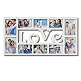 pic frame wall - Collage Picture Frames White