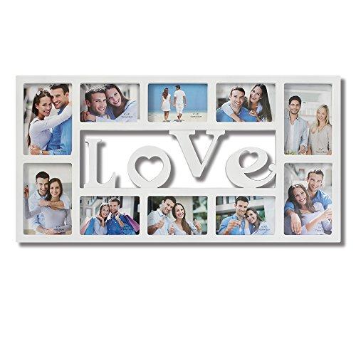 Amazon.com - Collage Picture Frames White \