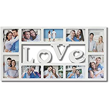 Amazon.com - Collage Picture Frames White \