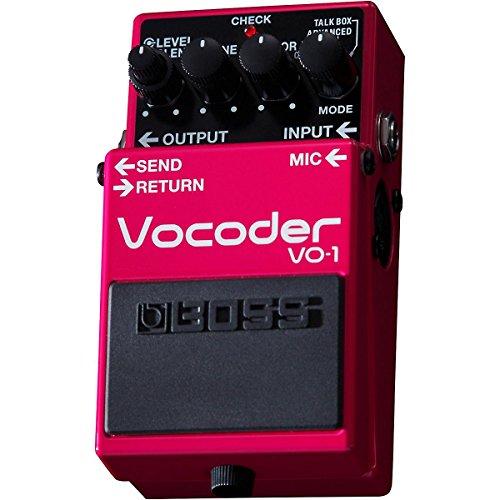 Boss VO 1 Vocoder Effects Pedal