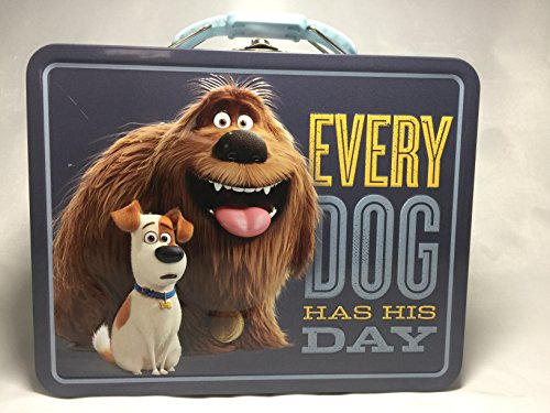 Secret Life of Pets Embossed Tin Lunch Box (Every Dog Has His Days)