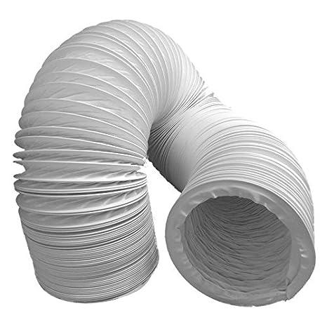 Tubo dell\'aria di scarico, flessibile, in PVC, diametro 100-102 mm ...