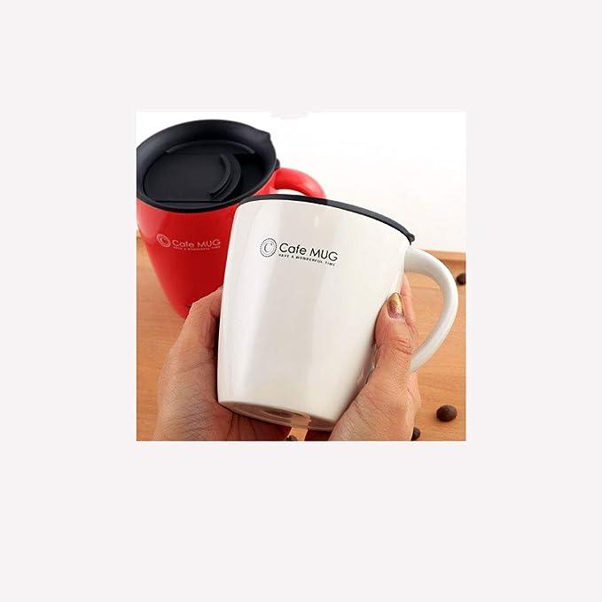 OurLeeme Cam/éra Tasse /À Caf/é Tasses En Acier Inoxydable Thermos Doublure Couvercle Tasse /À Caf/é Tasse 400ML Tasse Tumbler Th/é Bouteille Deau Tasse Grand cadeau pour un ami