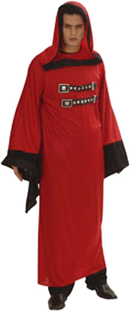 César - Disfraz de diablo/monje satánico con túnica para hombre ...